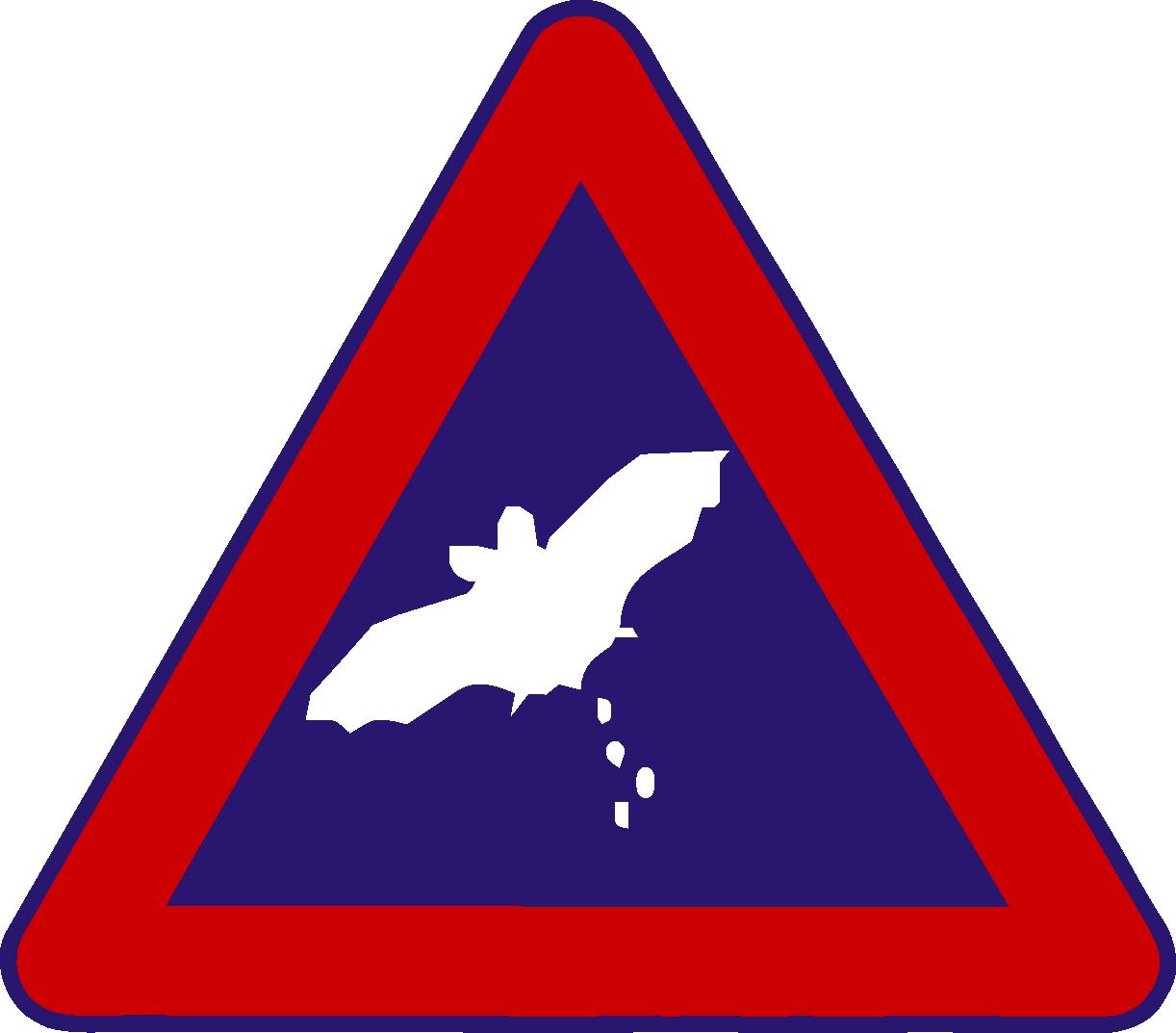 Verkehrsschilder Achtung