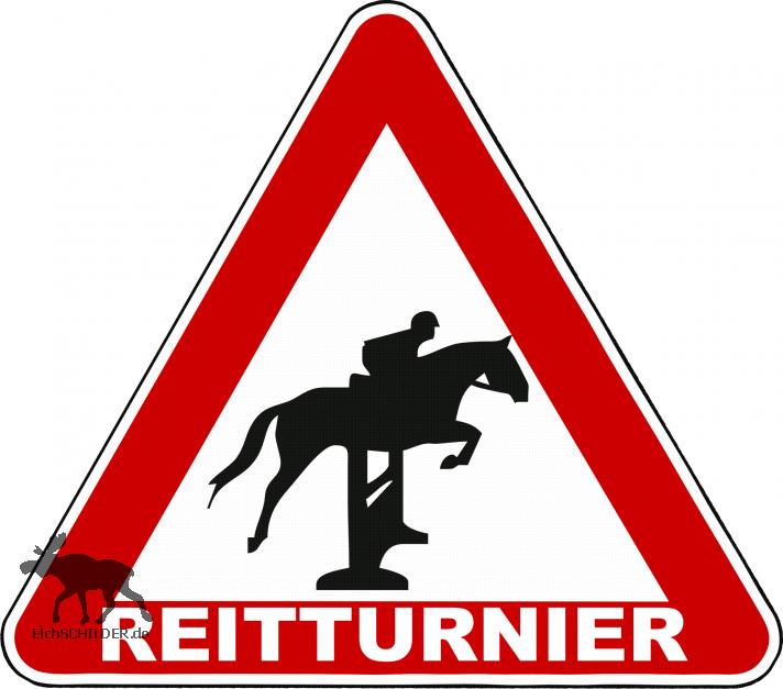 Achtung REITTURNIER