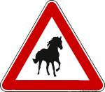 Achtung Pferd