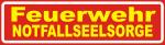 Magnetschild Feuerwehr Notfallseelsorge